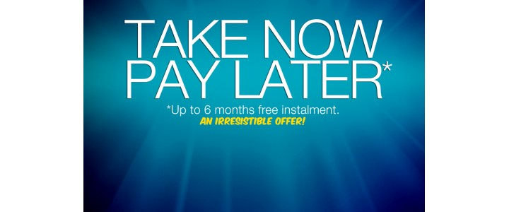 take now pay later